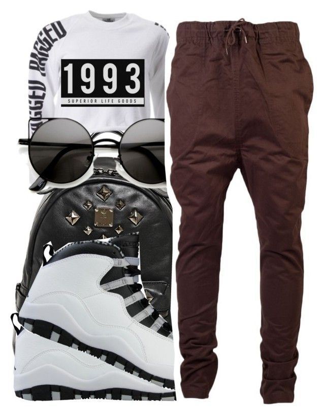 """""""#104"""" by aniyyya ❤ liked on Polyvore featuring MCM, NIKE, The Ragged Priest, I Love Ugly, Stampd, women's clothing, women, female, woman and misses"""