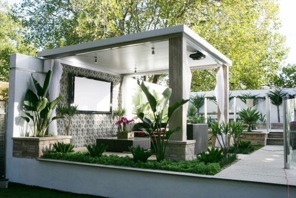 materialien terrassen berdachung pergola aluminium wand tv. Black Bedroom Furniture Sets. Home Design Ideas