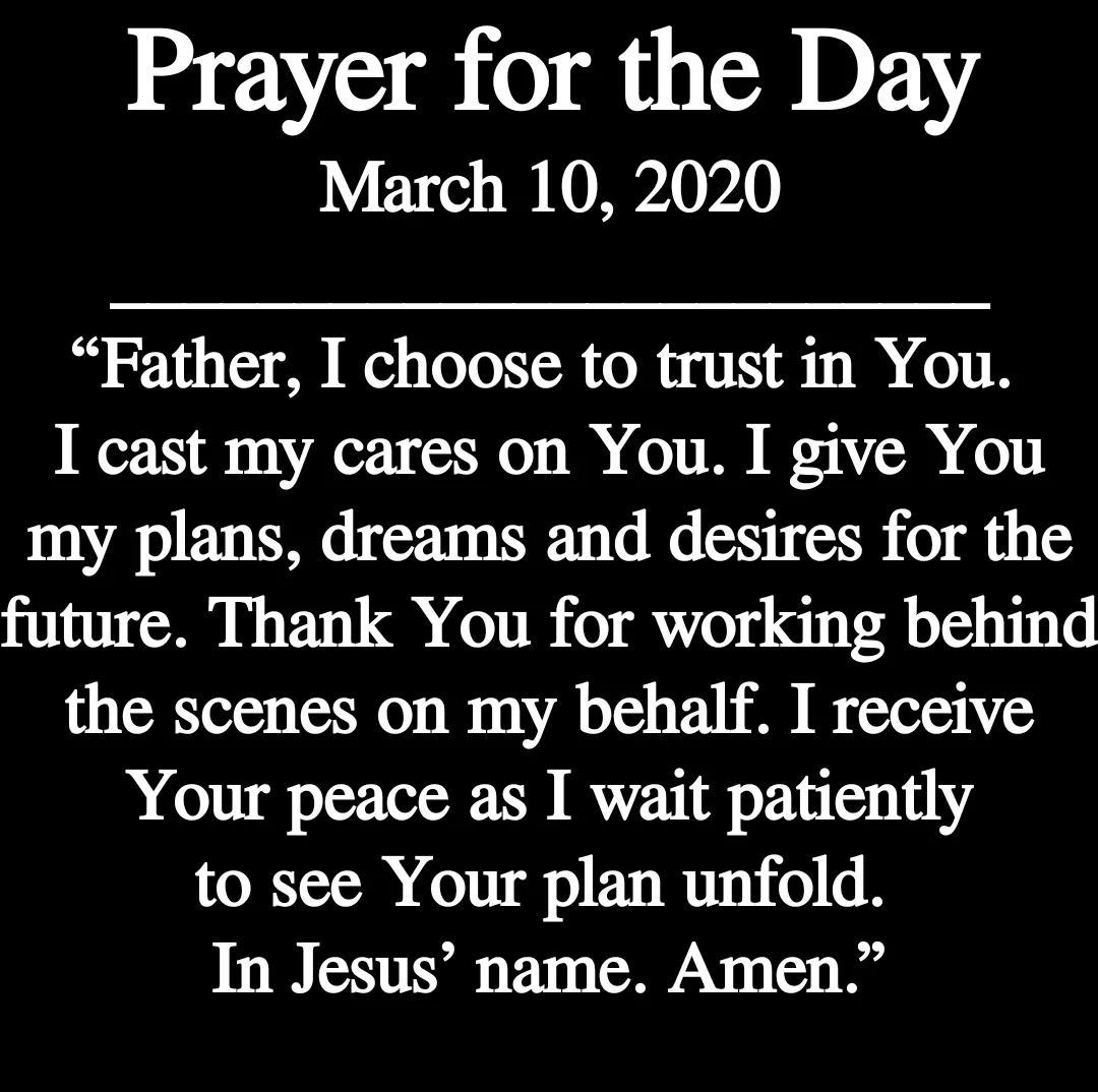 March 10, 2020 in 2020 Inspirational bible quotes