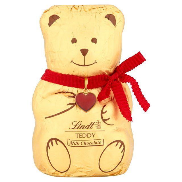 lindt teddy bear 100g from ocado design pinterest. Black Bedroom Furniture Sets. Home Design Ideas