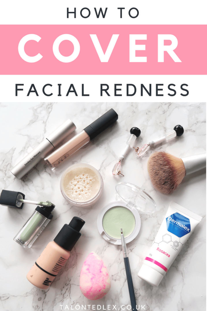 How To Cover Thread Veins And Rosacea // Talonted Lex