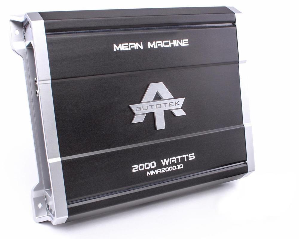 Autotek mma2000 1d 2000 w max class d monoblock sub