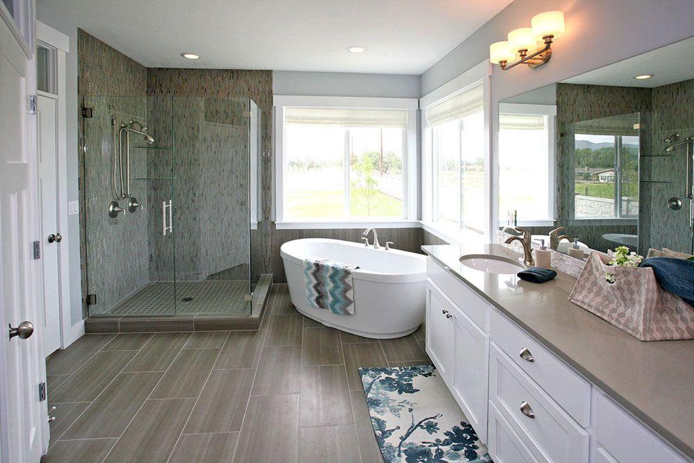 Master Bathrooms Edge Homes Master Bathroom Decor Home Bathrooms Remodel