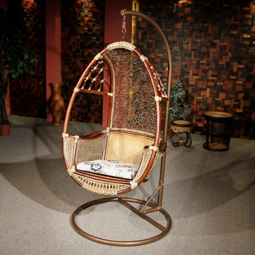 Furniture Build Hammock Chair Stand With Hanging Indoor