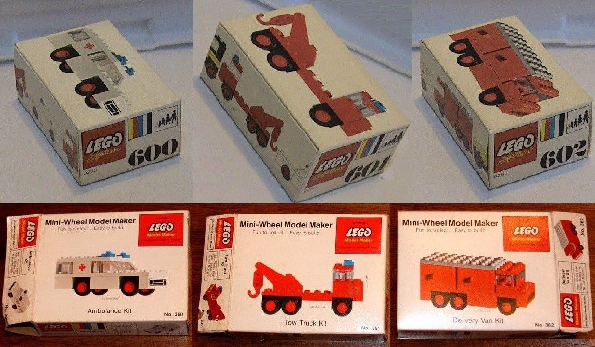 LEGO box variations by country: part 2, 1972-92 | Lego of yore