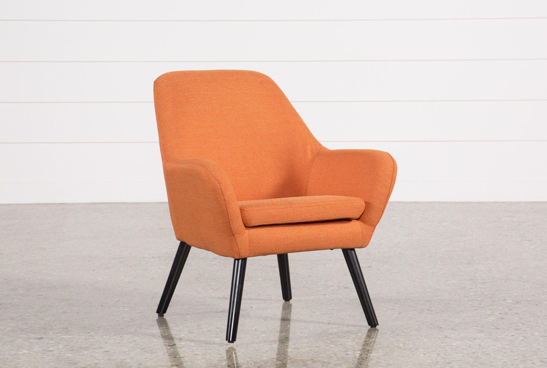 Best Mercury Mandarin Accent Chair Orange 175 Accent 400 x 300