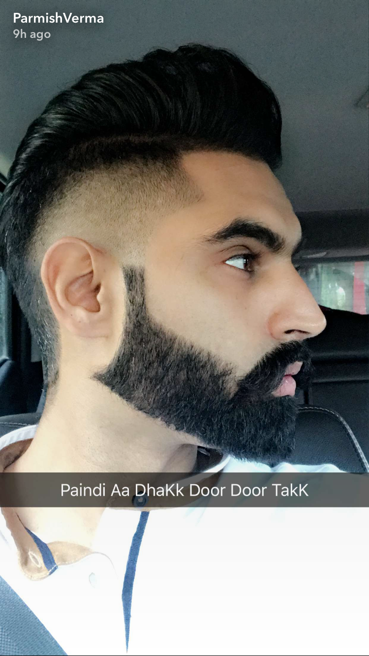 A le chak m a gya  Hair and beard styles, Beard styles, Parmish