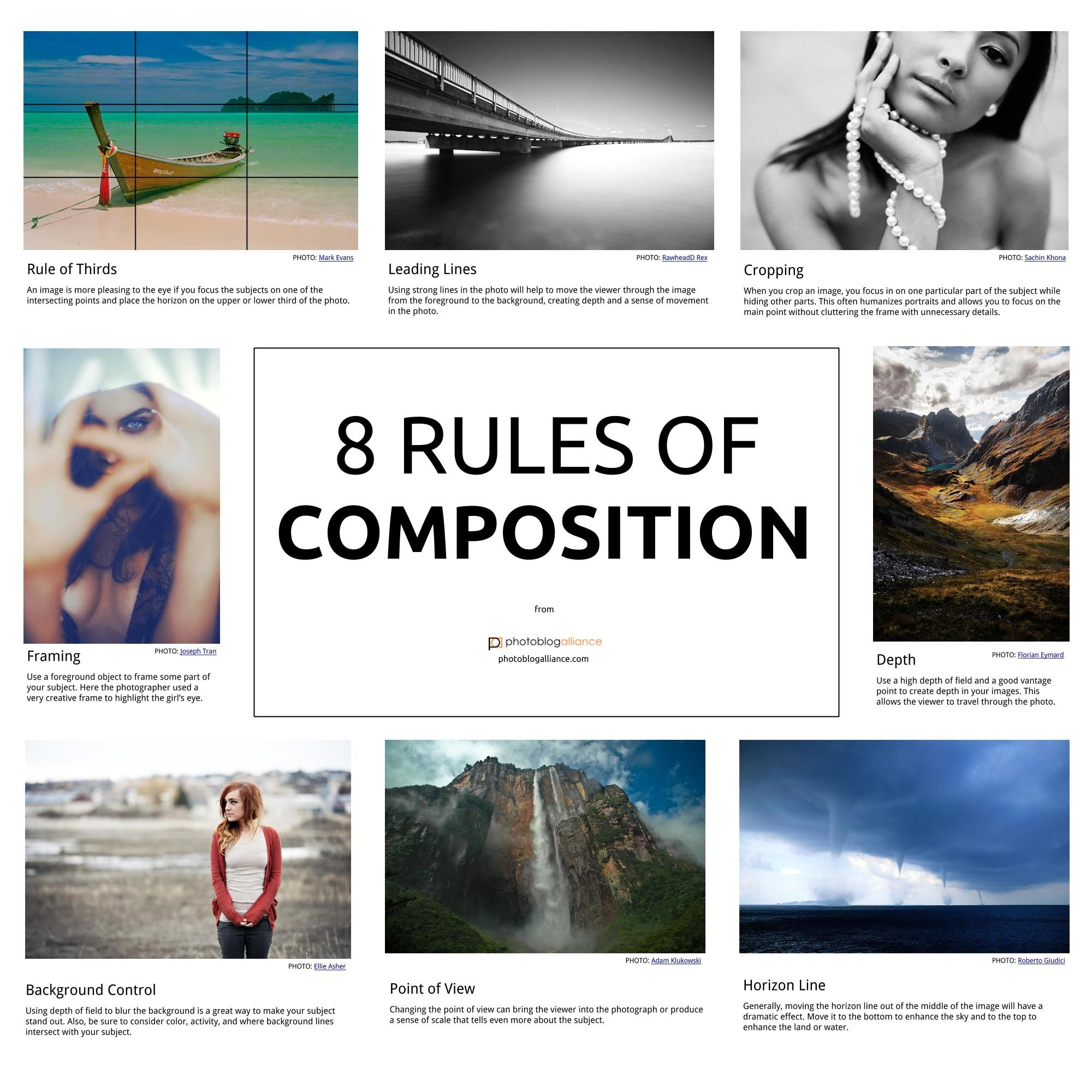 Want to become a great photographer? Learn these 8 rules of ...