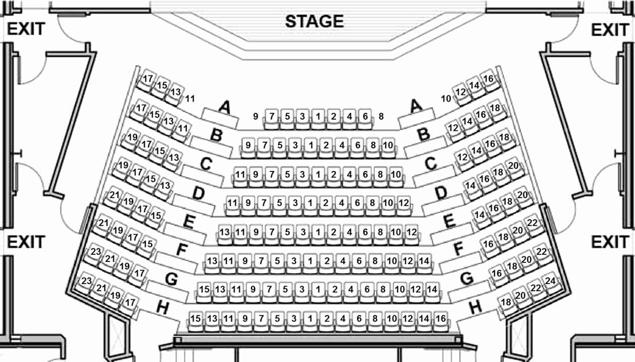 Auditorium Seating Chart Template Lovely 4 Best Of