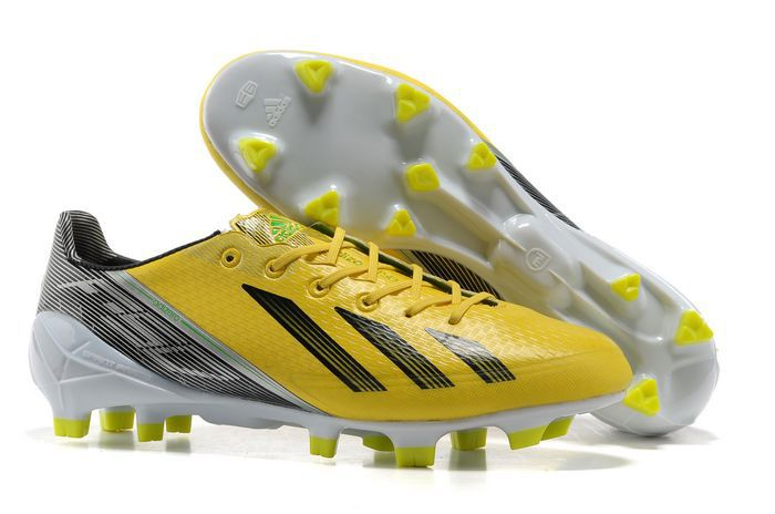 promo code 2a726 306b0 ... inexpensive adidas f50 adizero trx fg messi limited soccer cleats  yellow black metallic silver 55 adidas