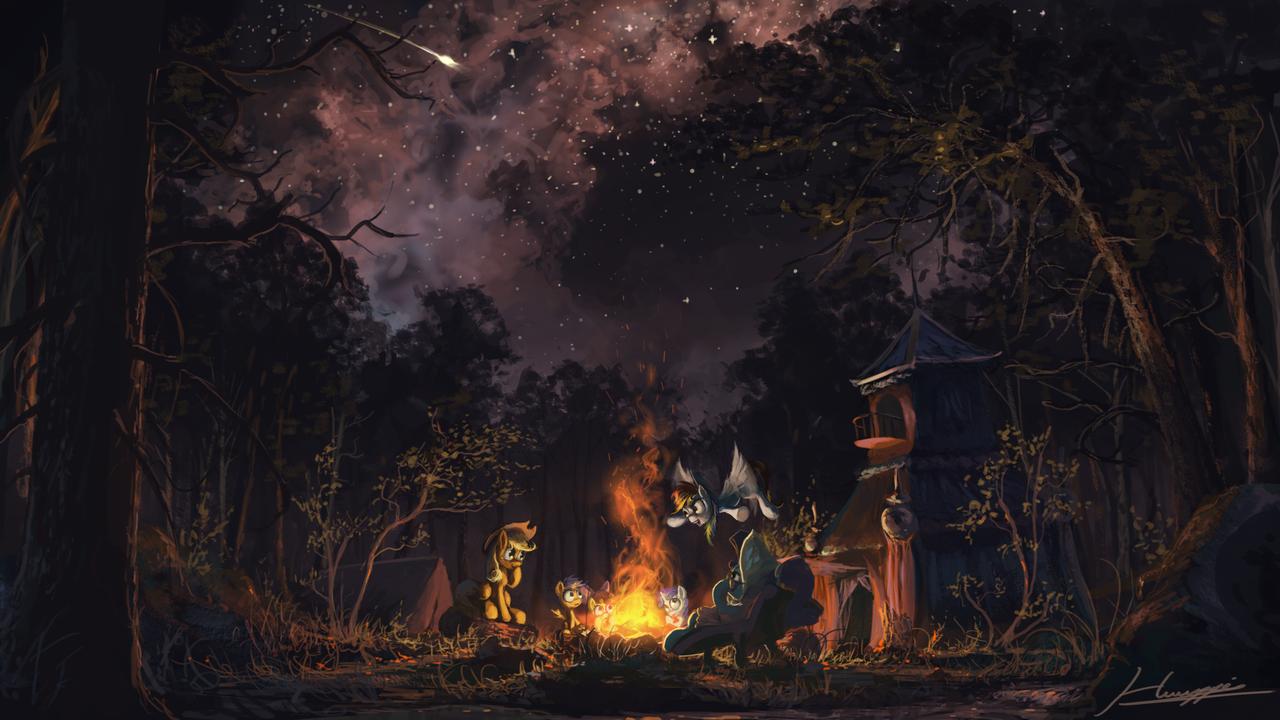 Sleepless in Ponyville by Huussii.deviantart.com on @deviantART