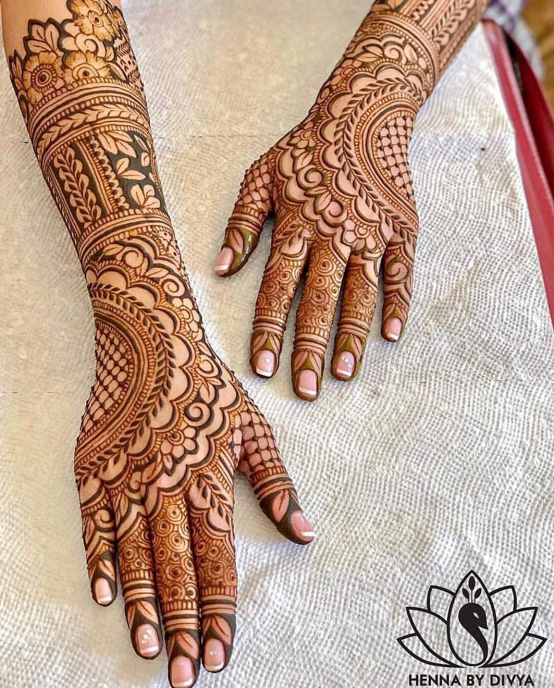 bridal back side mehndi design