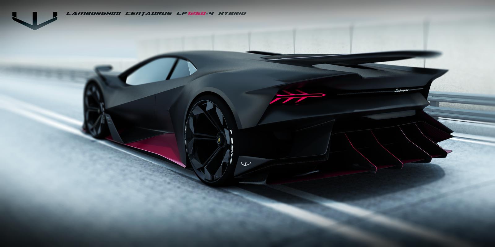 Lamborghini Centaurus hypercar | 創藝 | Pinterest ...