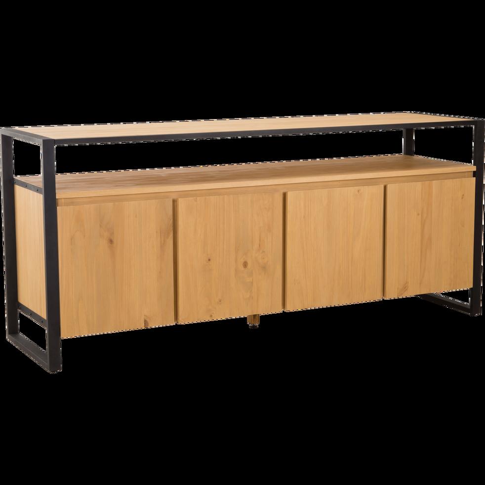 Ancien Buffet En Pin Relooke Style Industriel Meubles Et Rangements Par 2eme Vie Relooker Meuble Relooking Meuble Mobilier De Salon