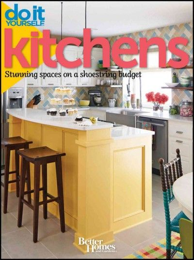 The kitchen is the heart of the home, and the space in which everyone seems to end up gathering. This book, from the editors of the popular Do It Yourself magazine, gives a wide variety of ideas for spicing up a kitchen, from tiling a backsplash to adding window treatments to increasing storage and functionality.