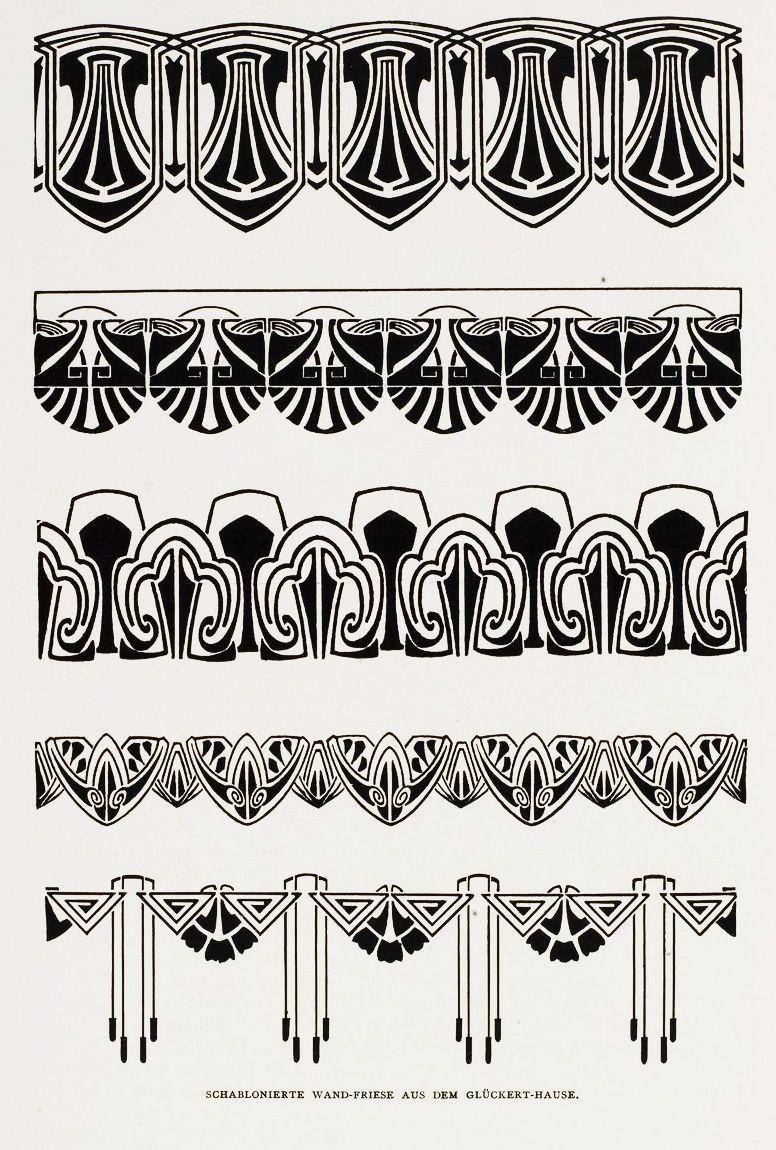 Patriz huber stencils for wall decoration dia