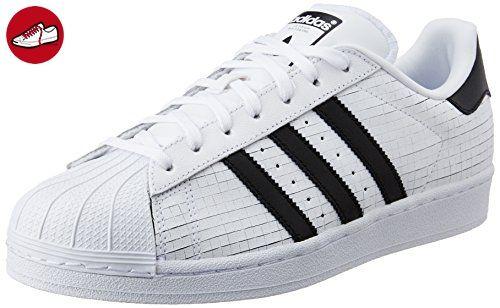 adidas originals Superstar Sneaker Schuh AQ8333, Weiß, 42 EU