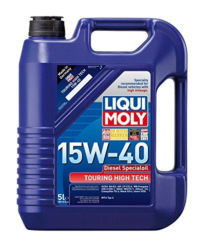 Liqui Moly 20444pk Touring High Tech Diesel 15w40 Motor Oil 5 Liter Pack Of 4 You Can Get Additional Details At Th Oils Motor Oil Diesel Particulate Filter