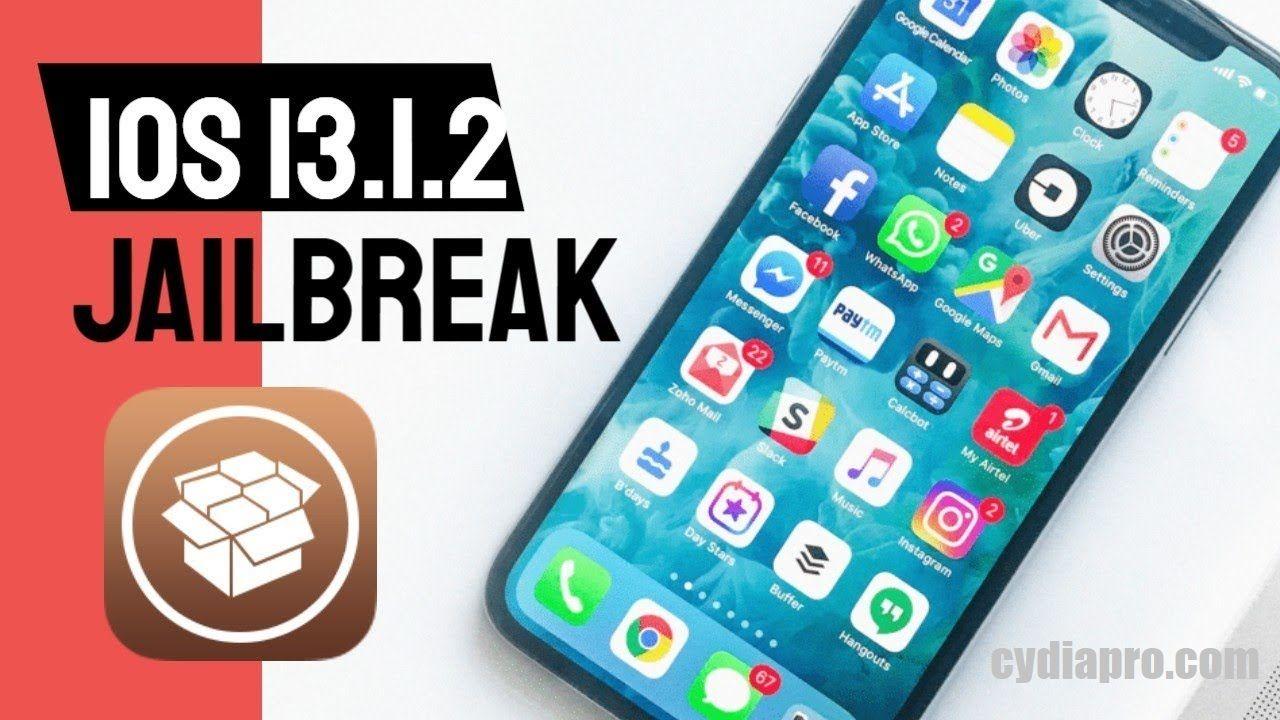 Latest Untethered update for Jailbreak iOS 13.1.3 running