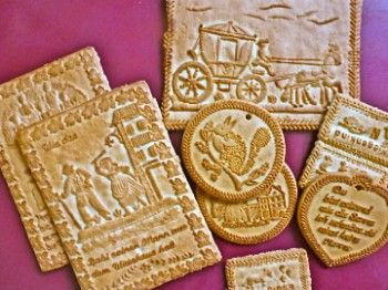 Tirggel Are Traditional Christmas Biscuits From Zurich Switzerland