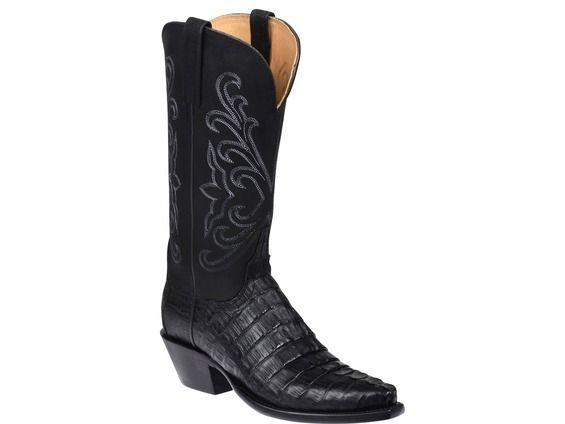 473aa692498 Shop New Lucchese HL4002 Parker Womens Caiman Crocodile and Mad Dog ...