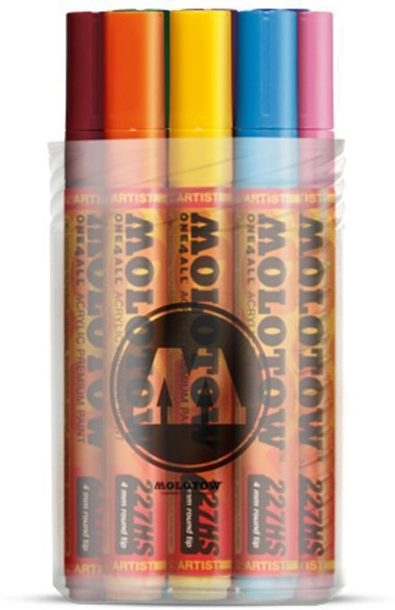 MOLOTOW ONE 4 ALL 227HS 10 PIECE DRAWING MARKER PEN SET BASIC SET 2