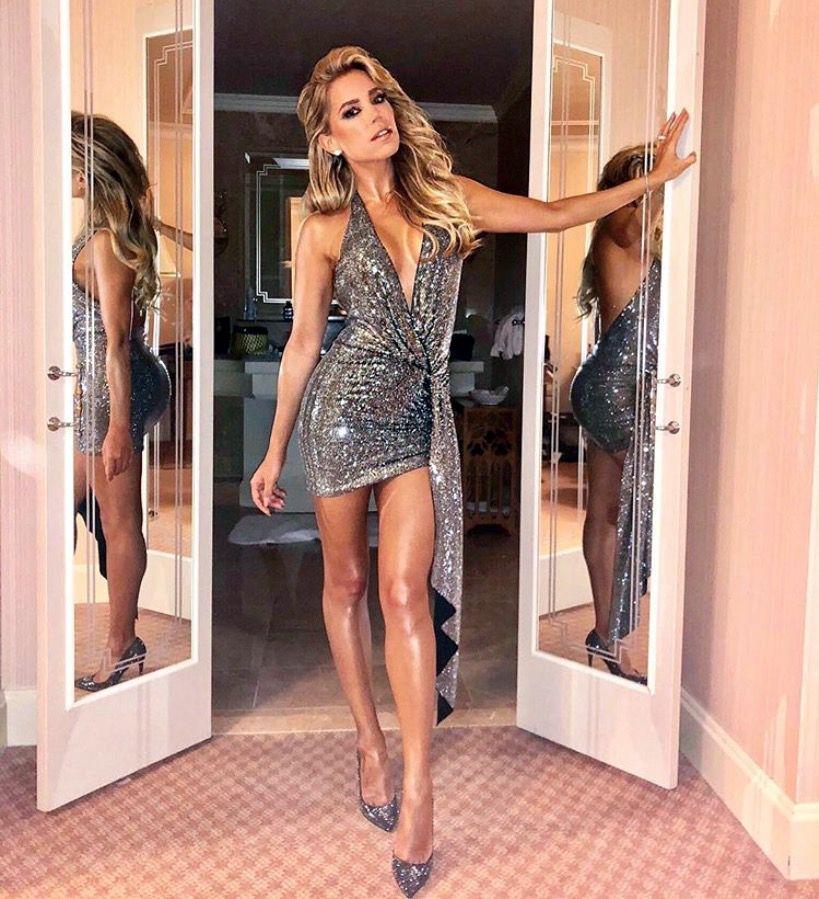 Der Style Von Sylvie Meis Modestil Partykleid Party Kleider