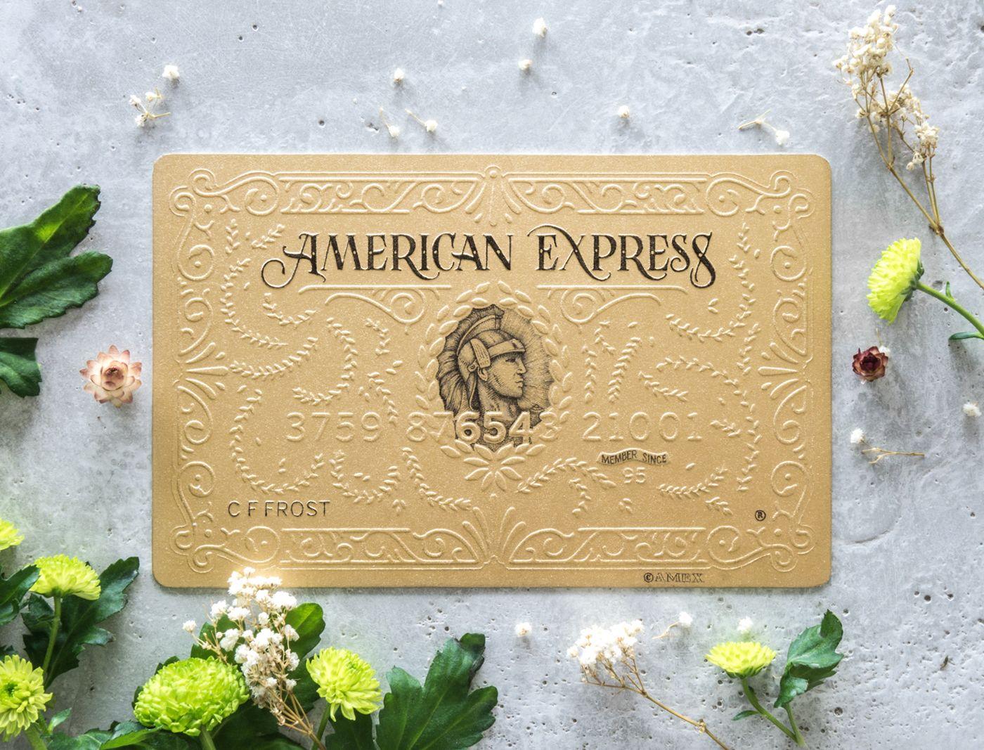 American Express card art on Behance