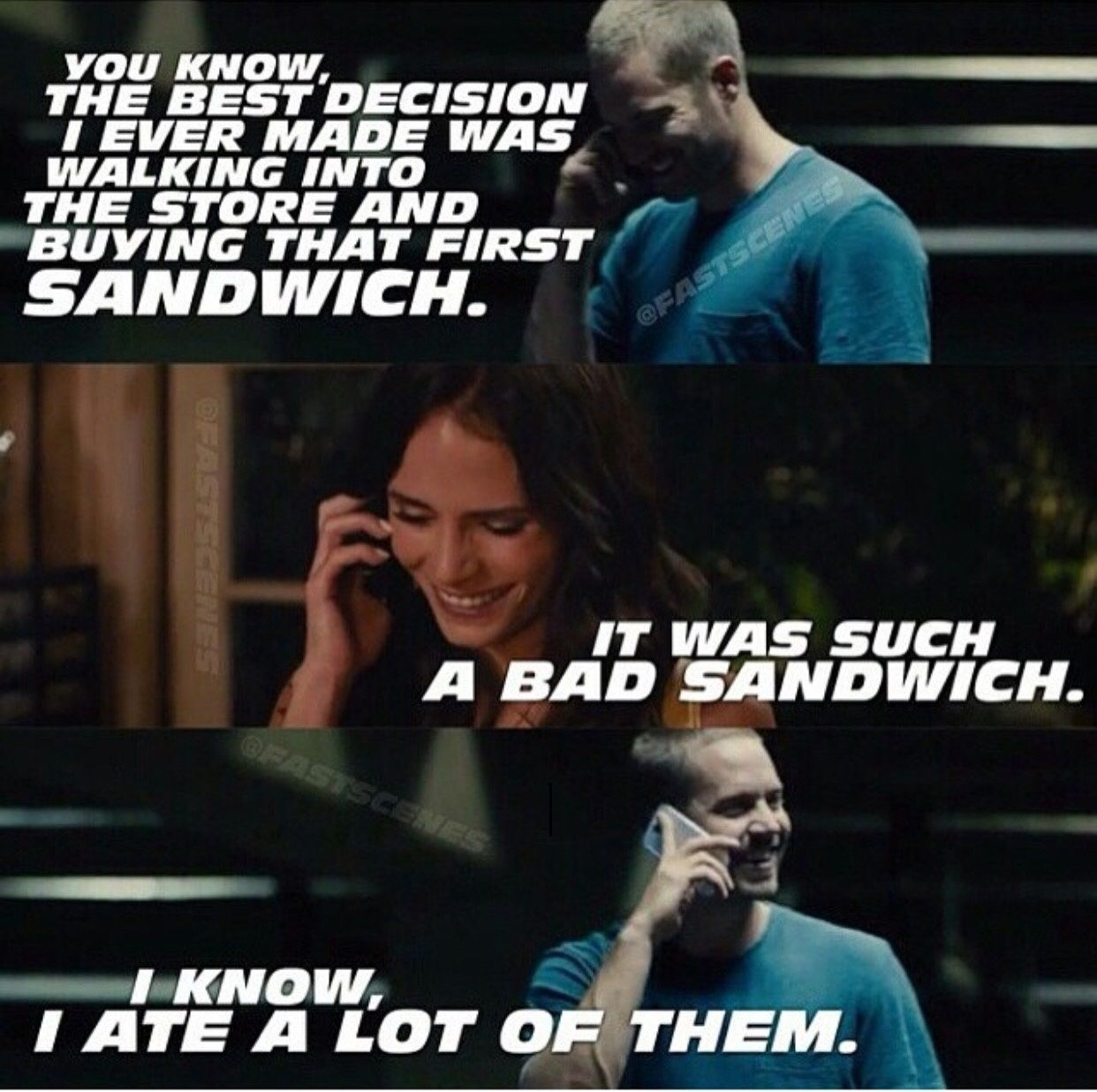 Fast And Furious Quote Brilliant Fast And Furious 7 List Of Movies Movies In Theaters Near Me Fast And Furious Memes Fast And Furious Fast And Furious Cast