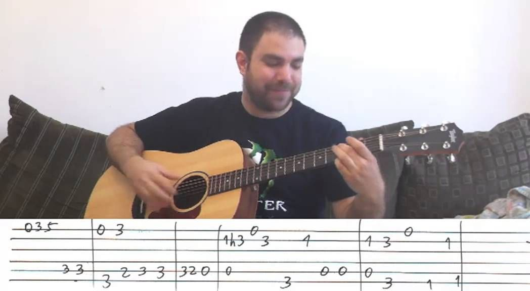 Fingerstyle Tutorial Stand By Me W Tab Guitar Lesson Http Andthanks2u Com Playing Guitar Blues Guitar Lessons Learn Guitar
