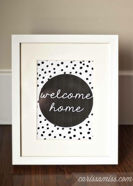welcome home printable  welcome home cards printable