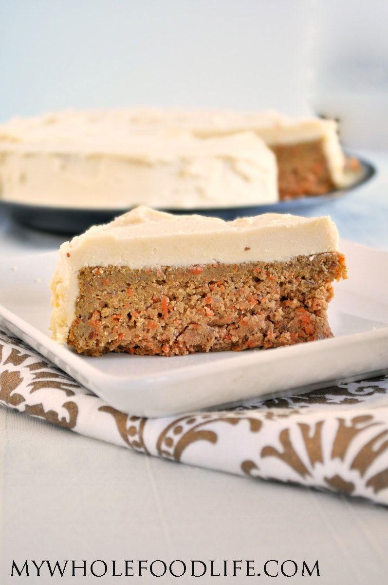 Vegan Carrot Cake Resepti Terveelliset Herkut Leivonnaiset Ja