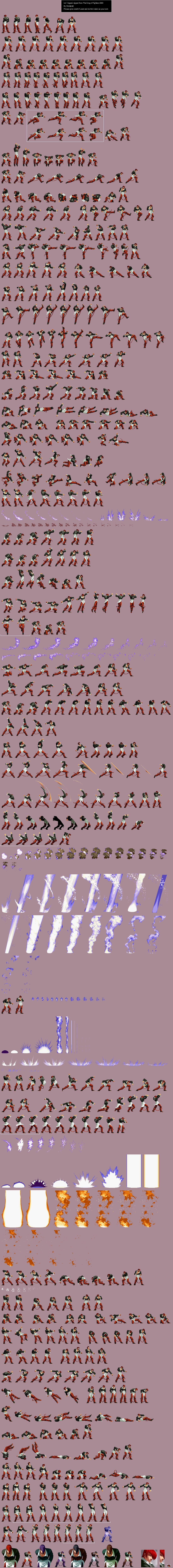 Sprite Database Iori Yagami Sprite Database Rune Knight Sprite
