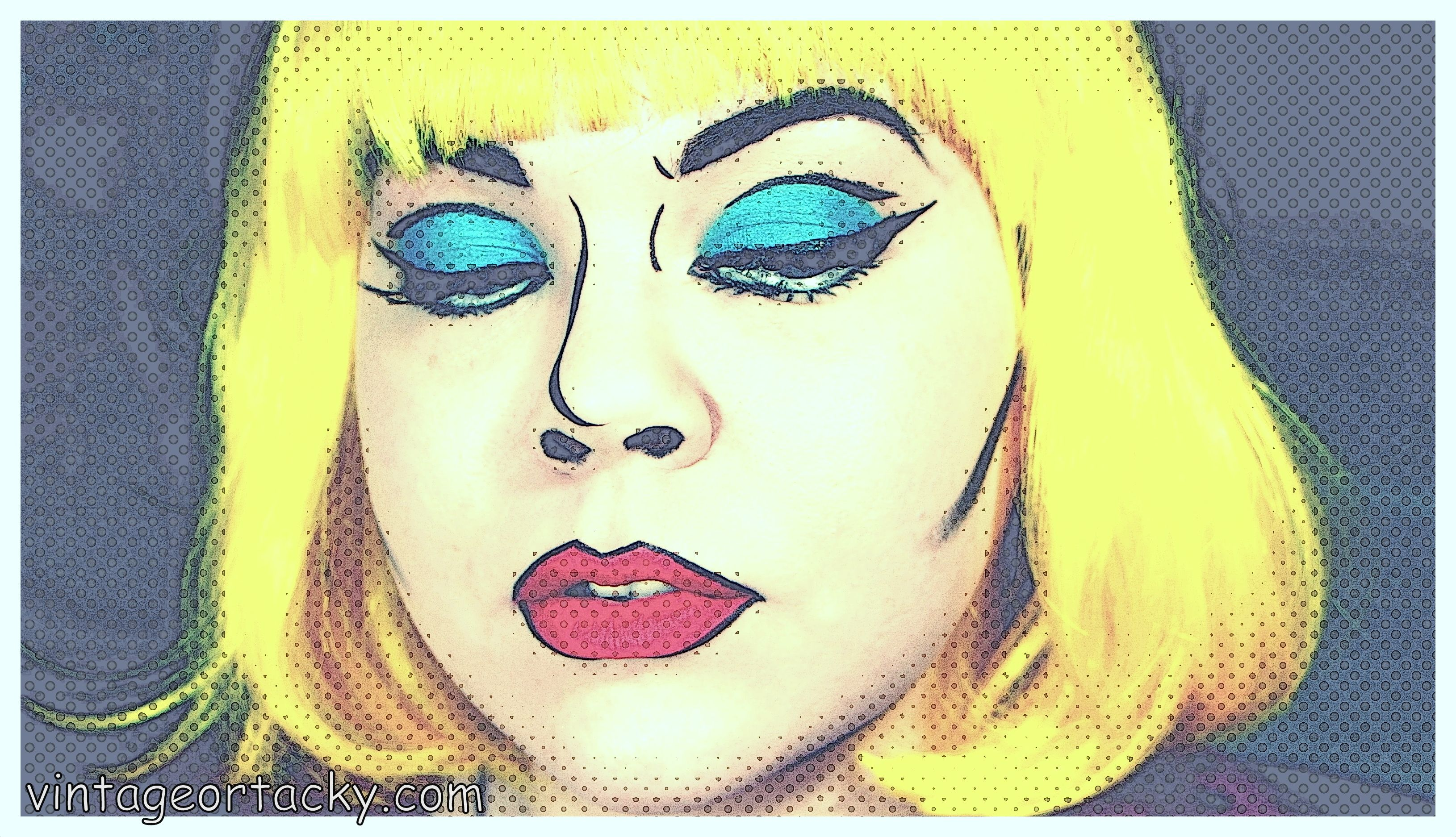 Pop artcomic book girl makeup tutorial theatrical makeup pop artcomic book girl makeup tutorial baditri Choice Image