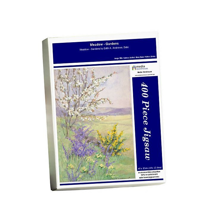 Photo of Jigsaw Puzzle-Meadow – Gardens-400 Piece Jigsaw Puzzle made to order in the UK