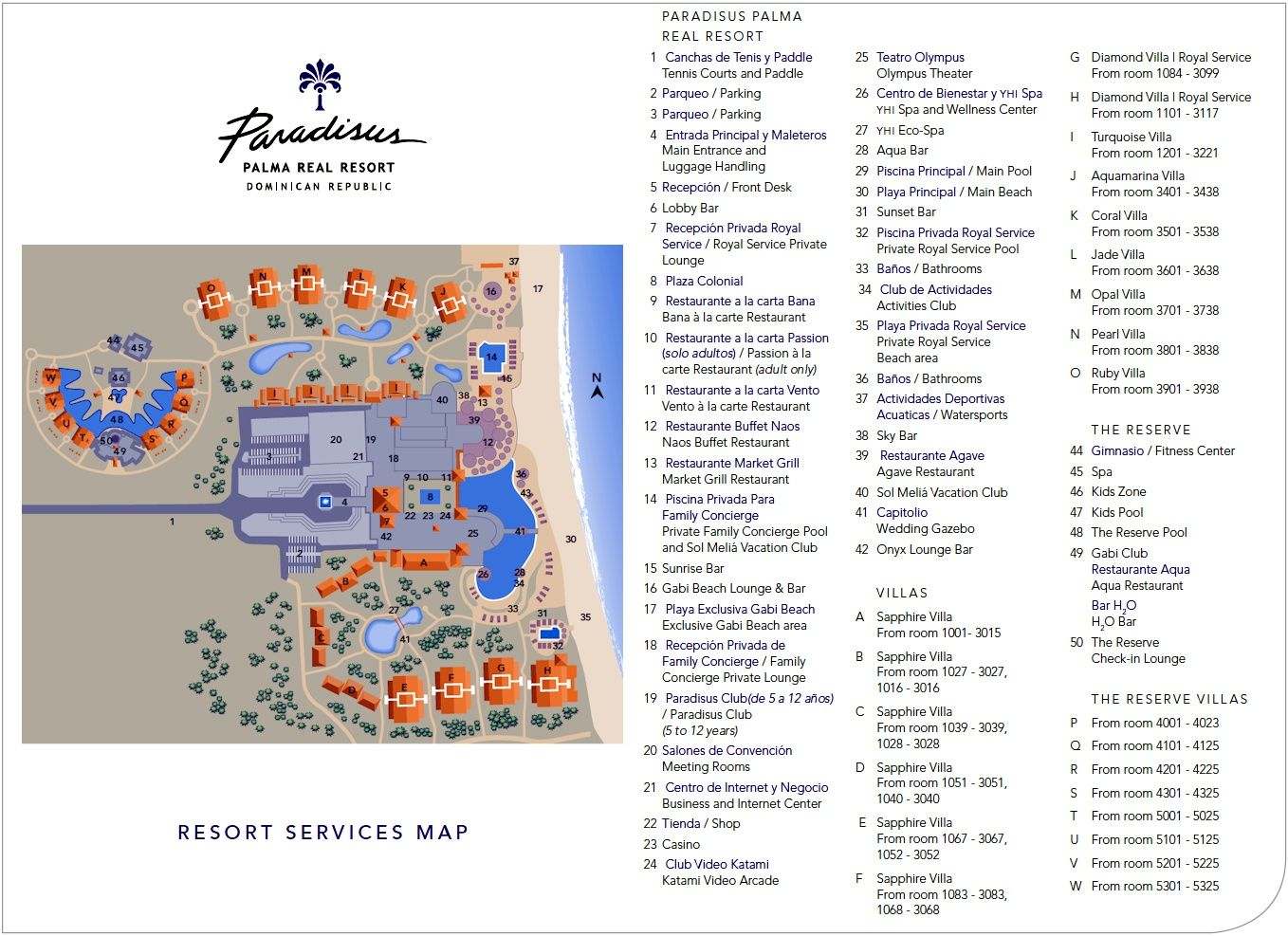 Reserve At Paradisus Punta Cana Master Room Layout