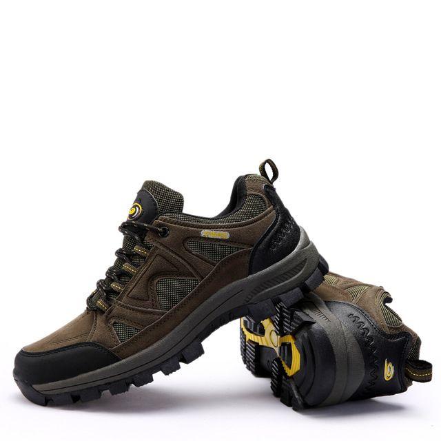 Hot sale Lovers outdoor shoes hiking men women sneakers suede Rubber Anti-friction climb shoe travel walking shoe