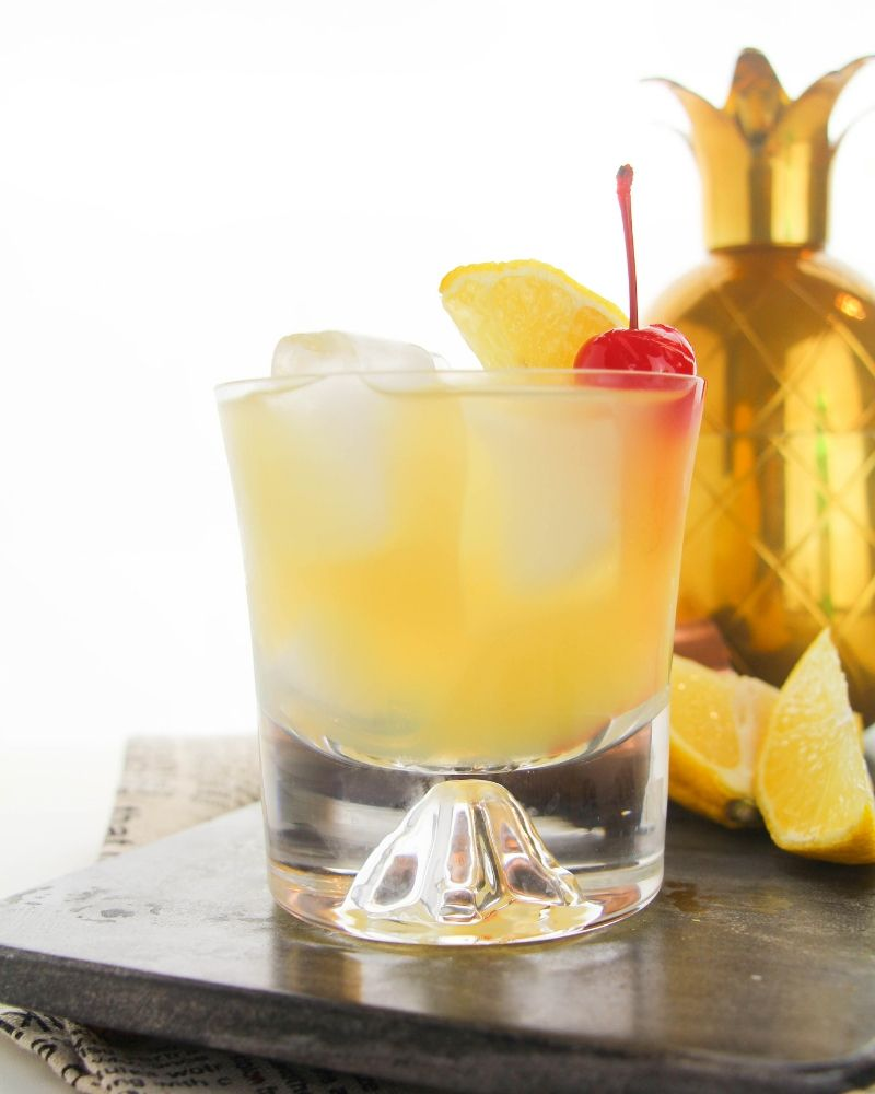 Classic Whiskey Sour Recipe Whiskey Sour Sour Foods Food