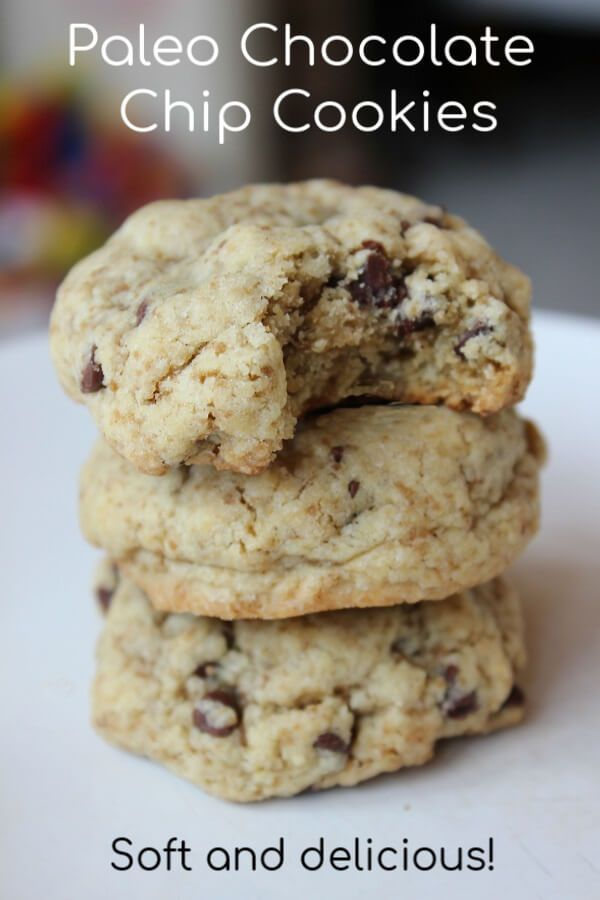 Paleo Chocolate Chip Cookies images