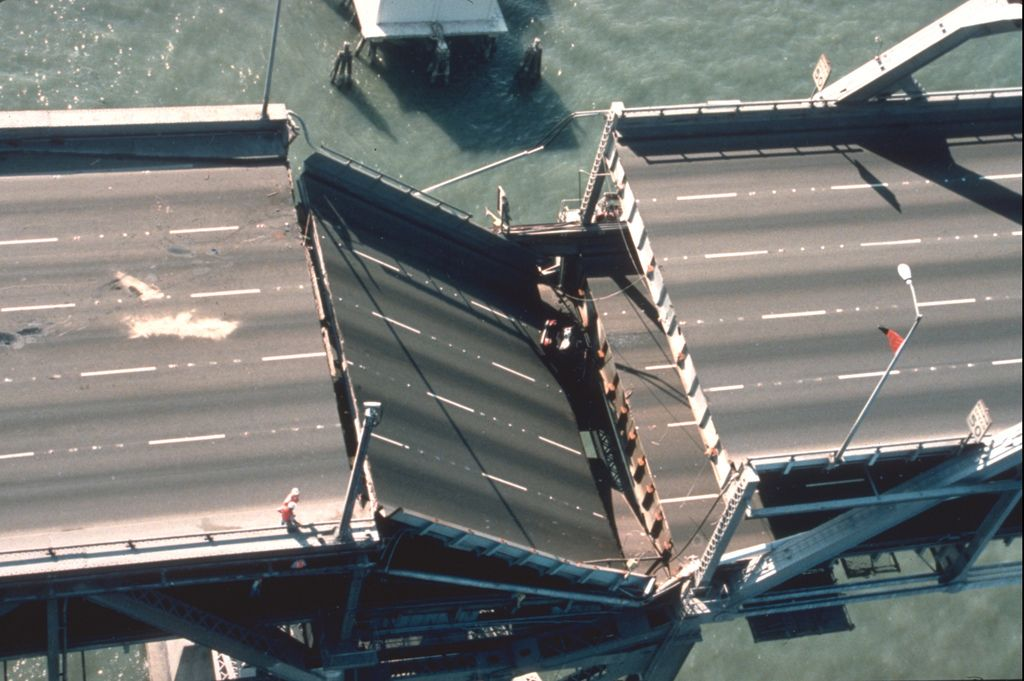 in 15 seconds the loma prieta earthquake toppled buildings collapsed freeways and a segment of the bay bridge caused devastating fires in san francisco s