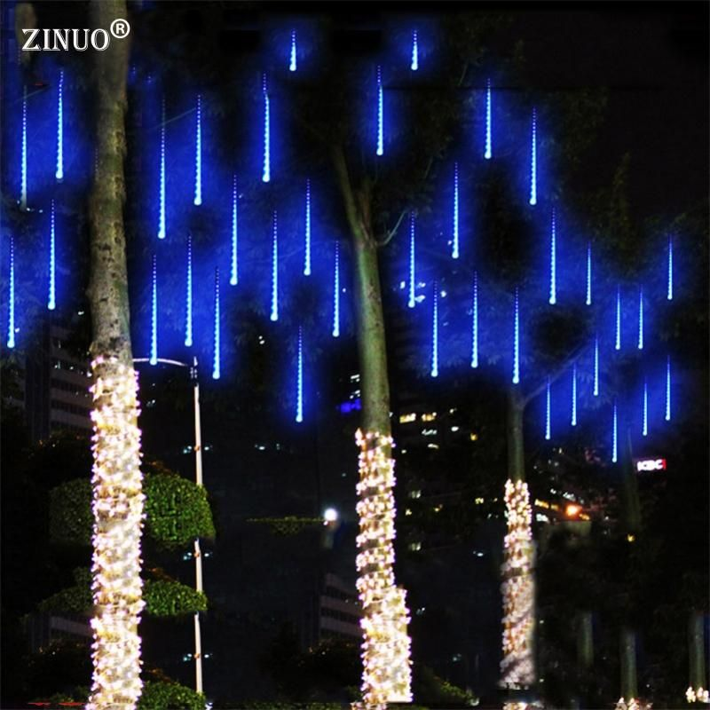 Multi color 30cm meteor shower rain tubes ac100 240v led christmas cheap string lights outdoor buy quality string lights directly from china holiday lights suppliers meteor shower rain tube led christmas light wedding aloadofball Images