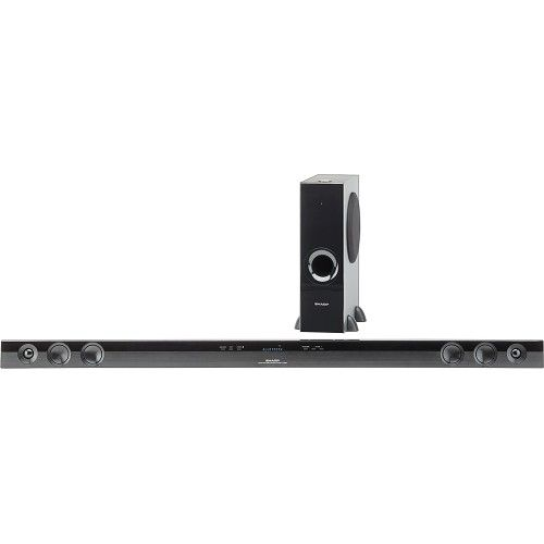 Check out this deal at Bestbuy! If you are looking to upgrade your home theatre experience, get this Sharp 2.1-Channel Soundbar with Wireless Subwoofer for only $199.99! Normally $399.99!