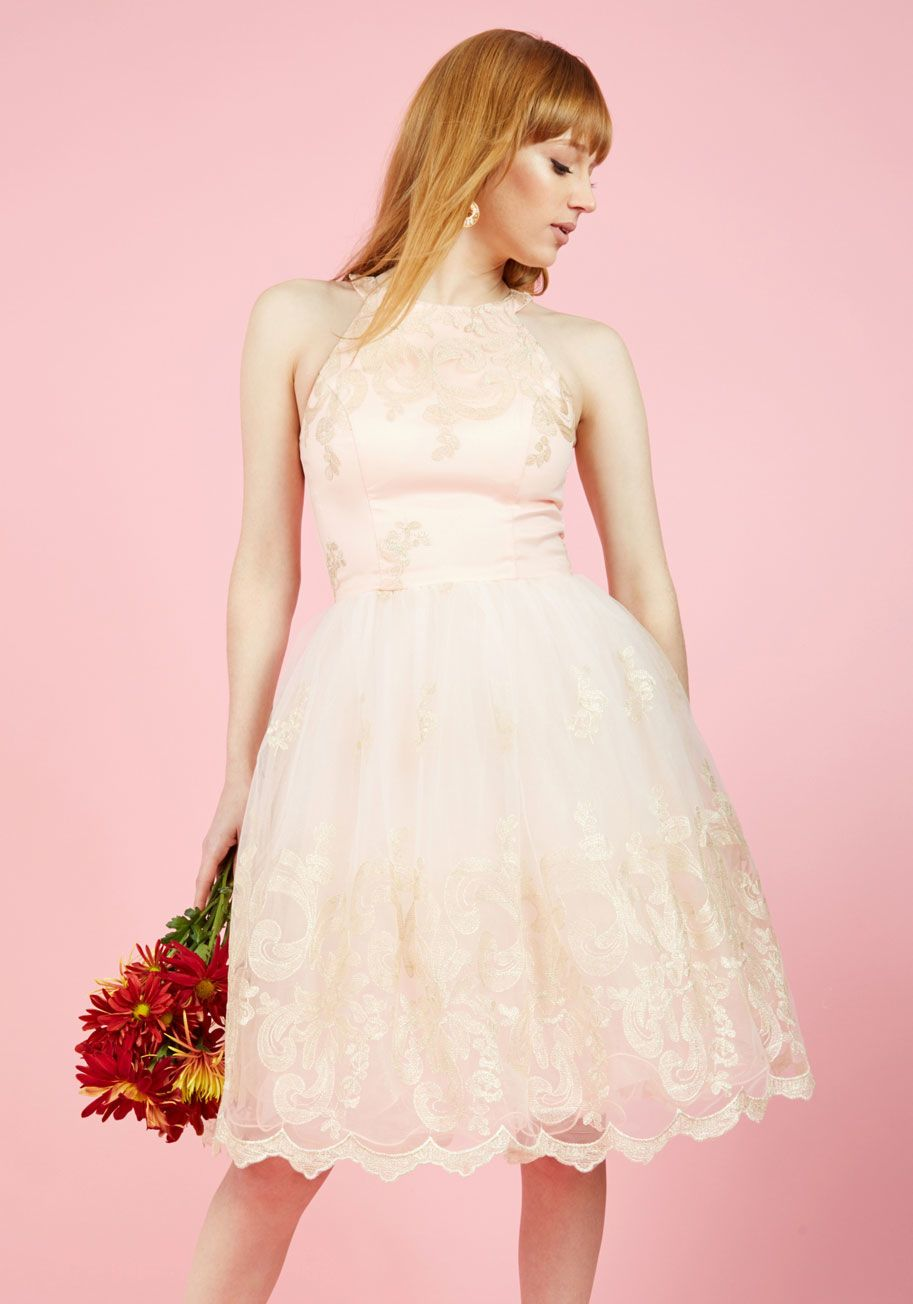 Chi Chi London Eloquent Admirer Lace Dress   Wedding