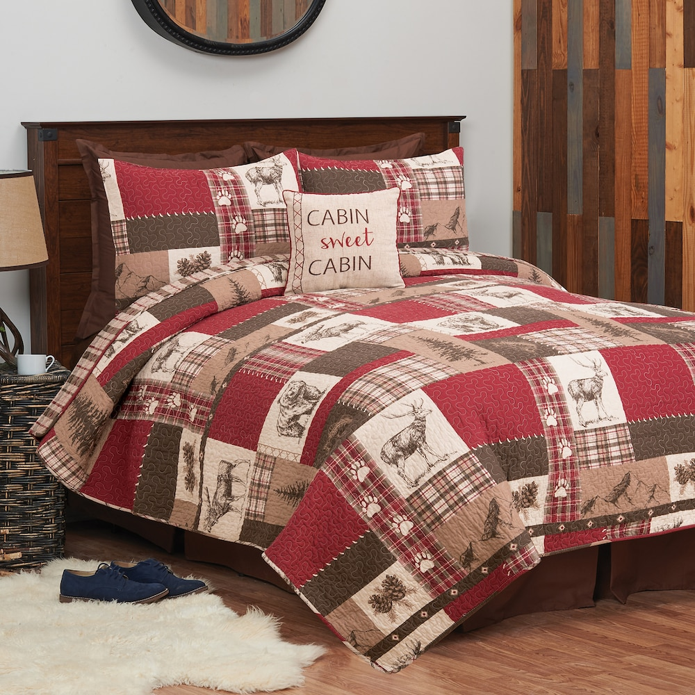 C F Home Rockwell Quilt Or Sham Farmhouse Bedding Sets Home