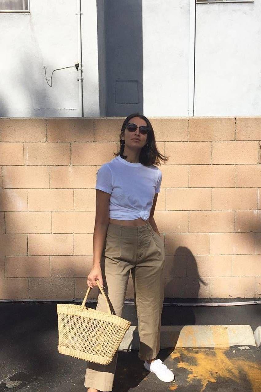 43 Outfits Que Prueban Lo Chic Que Puede Ser Una Camiseta