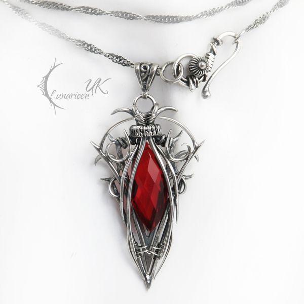ZUNTIRX - silver and red quartz by LUNARIEEN on deviantART