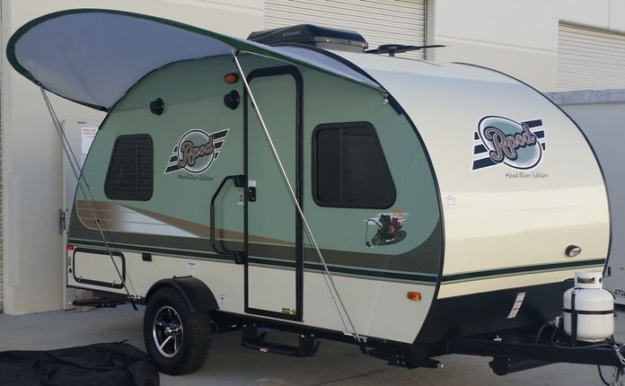 R Pod Trailer Visor By Pahaque Pod Camper R Pod Car Tent