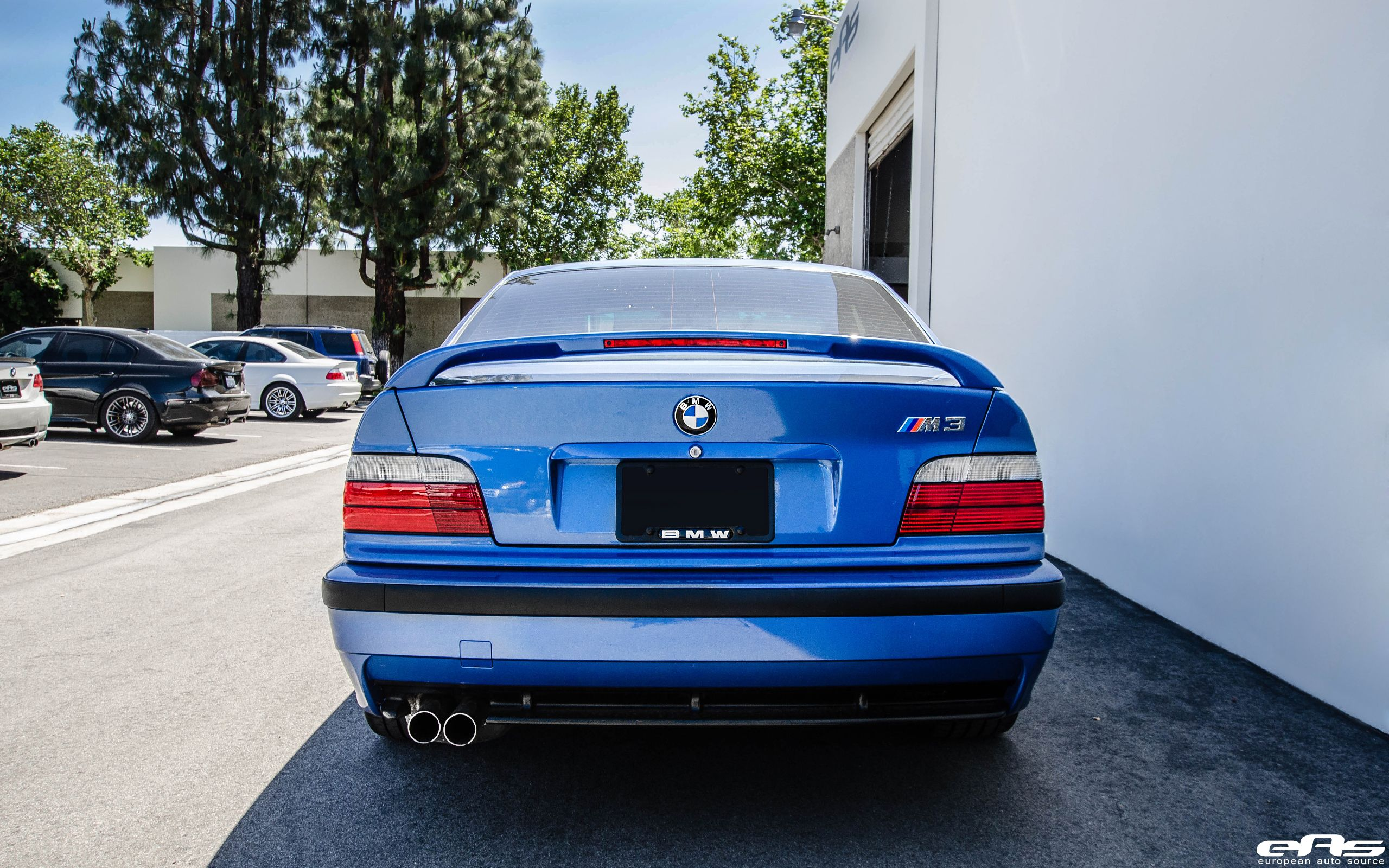 1997 Estoril Blue E36 M3 | BMW E36 | Bmw performance, Bmw