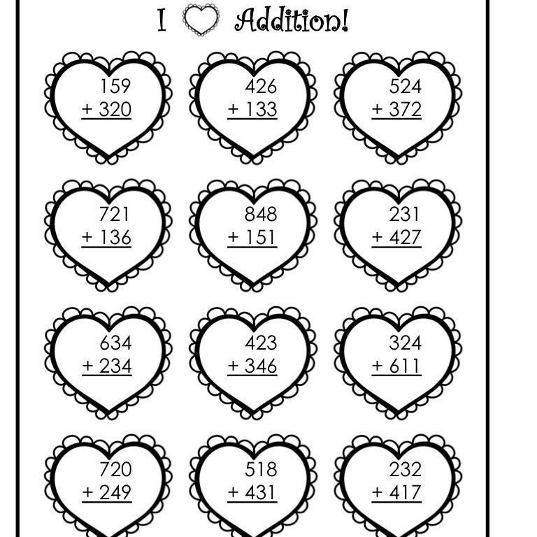 Two Digit Addition Coloring Worksheets 4 in 2020