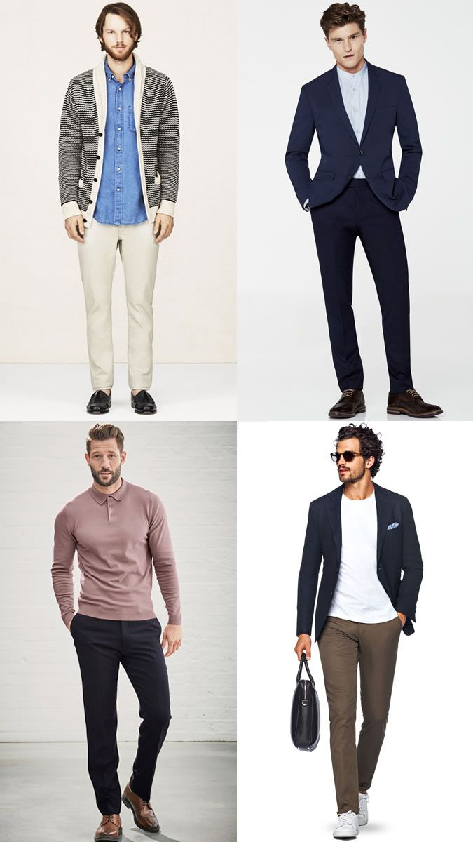 dd9f39bd93c Men s Alternative Work Shirts Business-Casual Outfit Inspiration Lookbook